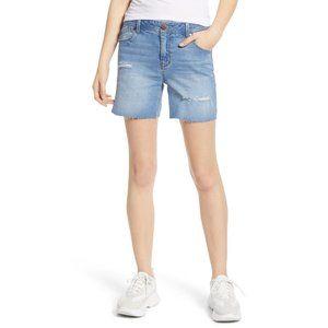 NWT Nordstrom 1822 Denim Distressed Denim Shorts